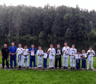 Вручение дипломов участникам летних спортивных сборов