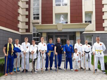 Летние спортивные сборы по джиу-джитсу. Россия, Грумант
