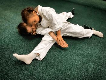 Отработка техники борьбы