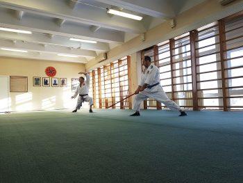 Отработка комплексов формальных упражнений