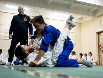 Турнир школы по борьбе в партере